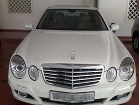Used Mercedes-Benz E-Class E 220 CDI Elegance, 2009, Diesel AT for sale in Coimbatore