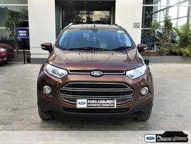 2016 Ford EcoSport 1.5 Diesel Titanium Plus MT for sale in Chennai