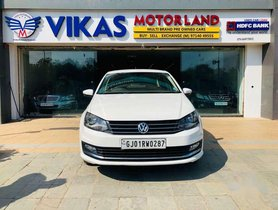 Used 2017 Volkswagen Vento AT for sale in Ahmedabad