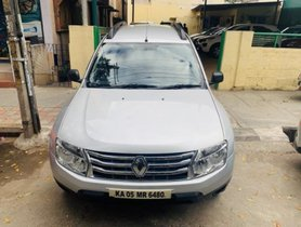 Used Renault Duster 85PS Diesel RxE MT 2015 in Bangalore