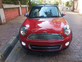 Used Mini Cooper Convertible 1.6 AT car at low price in Mumbai