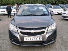 Used Chevrolet Sail 1.2 Base MT car at low price in New Delhi