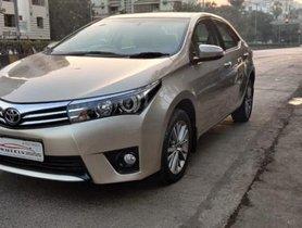 Used Toyota Corolla Altis Version VL AT car at low price in Mumbai