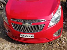 Used Chevrolet Beat LT MT car at low price in Noida