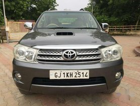 Toyota Fortuner 3.0 4x4 Manual, 2011, Diesel MT for sale in Ahmedabad