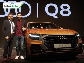 Virat Kohli's Newest Car Is An Audi Q8 Crossover