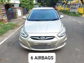 Hyundai Fluidic Verna 1.6 CRDi SX, 2013, Diesel MT for sale in Chennai