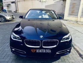 Used BMW 5 Series 520d Luxury Line AT car at low price in Kolkata