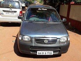 2001 Maruti Suzuki Alto 800 VXI MT for sale at low price in Goa