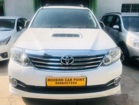 Used Toyota Fortuner AT car at low price in Chandigarh