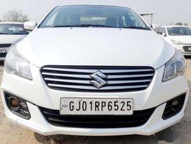 2016 Maruti Suzuki Ciaz MT for sale at low price in Ahmedabad
