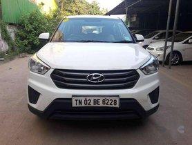 Used Hyundai Creta 1.6 E MT car at low price in Chennai