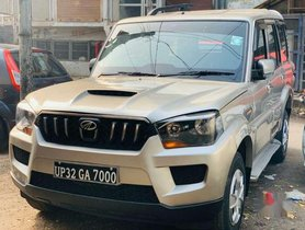 Used Mahindra Scorpio MT car at low price in Lucknow