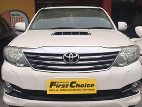 Used Toyota Fortuner MT car at low price in Chandigarh