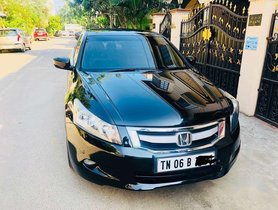 2010 Honda Accord MT for sale at low price in Chennai