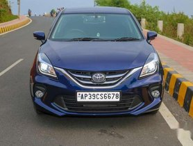2020 Toyota Glanza MT for sale in Visakhapatnam
