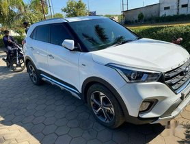 Used 2018 Hyundai Creta Version 1.6 SX Automatic AT for sale in Jabalpur