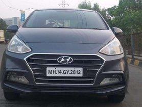 2018 Hyundai Xcent MT for sale at low price in Mumbai