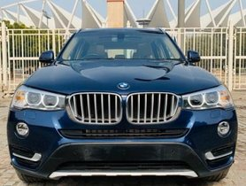 Used 2016 BMW X3 xDrive 20d Expedition AT for sale in New Delhi