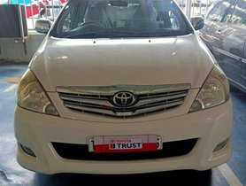 Used Toyota Innova 2.5 VX 7 STR MT 2011 in Chennai