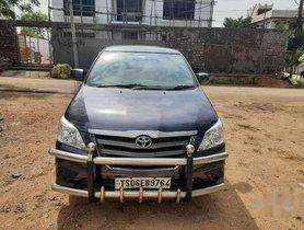 Used Toyota Innova 2.5 G 8 STR BS-IV, 2015, Diesel MT for sale in Hyderabad