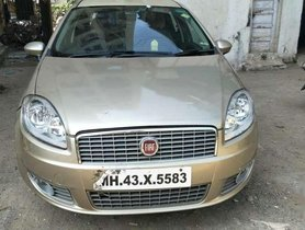 Fiat Linea Emotion 1.4 L T-Jet Petrol, 2009, CNG & Hybrids MT for sale in Mumbai
