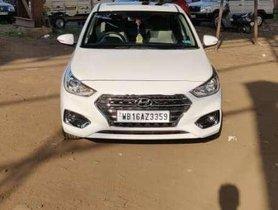Hyundai Verna Fluidic 1.6 VTVT SX Opt, 2019, Petrol MT in Kolkata