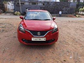 Used Maruti Suzuki Baleno Alpha Petrol, 2017, MT for sale in Hyderabad