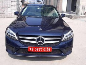 Used Mercedes Benz C-Class C 220 CDI Style 2019 AT for sale in Kolkata