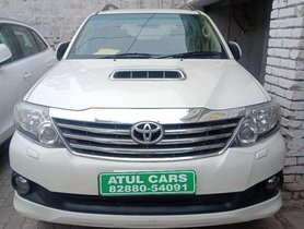 Used Toyota Fortuner 2.8 4X2 Automatic, 2014, Diesel AT for sale in Chandigarh