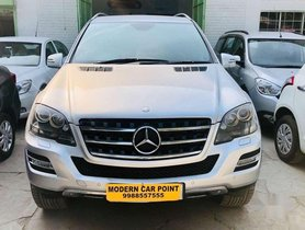 Used Mercedes Benz M Class 2012 AT for sale in Chandigarh