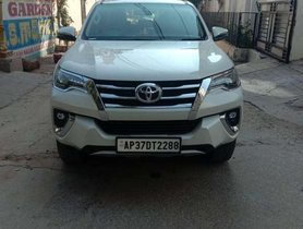 Used Toyota Fortuner 2018 4x2 Manual MT for sale in Hyderabad