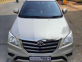 Used Toyota Innova 2.5 GX 8 STR 2015 MT for sale in Mumbai