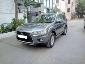 Mitsubishi Outlander 2.4 Chrome Ltd, 2011, Petrol AT for sale in Hyderabad