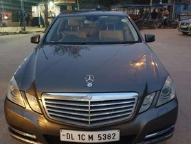 2011 Mercedes Benz E Class AT for sale in Faridabad