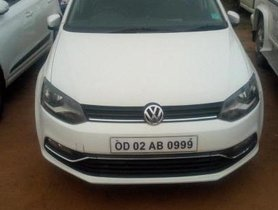2015 Volkswagen Polo Version Petrol Highline 1.6L MT for sale at low price in Bhubaneswar