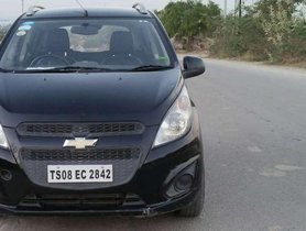 Used Chevrolet Beat Diesel 2014 MT for sale in Hyderabad