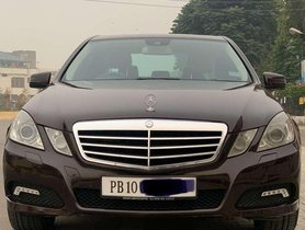 Used 2010 Mercedes Benz E Class AT for sale in Jalandhar