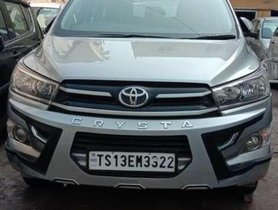 Used 2018 Toyota Innova Crysta AT for sale in Hyderabad