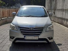 Used Toyota Innova 2.5 V 8 STR, 2014, Diesel MT for sale in Thane