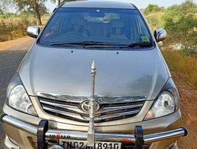 Used Toyota Innova 2009 MT for sale in Madurai