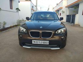 Used BMW X1 sDrive20d sLine, 2012, Diesel AT for sale in Madurai