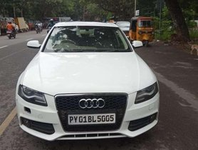 Used 2011 Audi A4 AT for sale in Chennai