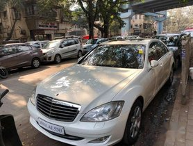 Used Mercedes Benz S Class AT for sale in Mumbai
