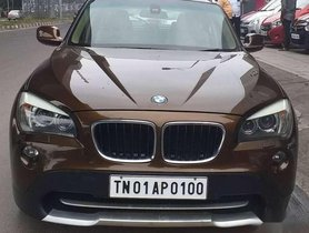 BMW X1, 2011, Diesel MT for sale in Chennai