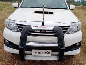 Used 2014 Toyota Fortuner MT for sale in Erode