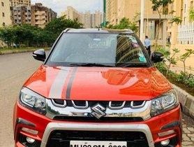 Maruti Suzuki Vitara Brezza ZDi - Plus Dual Tone Diesel, 2017 MT for sale in Mumbai