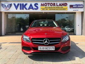 Used 2018 Mercedes Benz C-Class AT for sale in Ahmedabad