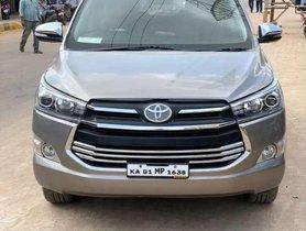 Used Toyota Innova Crysta MT for sale in Nagar