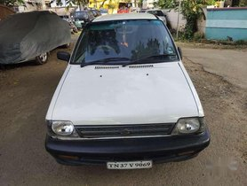 2000 Maruti Suzuki 800 MT for sale in Ramanathapuram